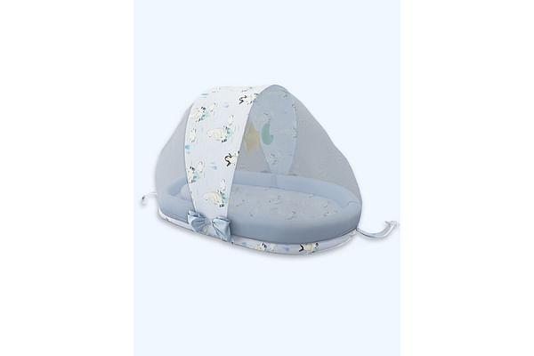 Fancy Fluff Organic Baby Mosquito Net Set - Arctic