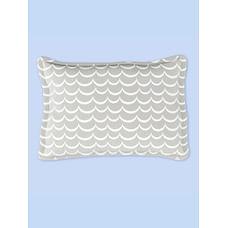 Fancy Fluff Organic Rectangle Baby Pillow - Arctic