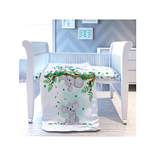 Fancy Fluff Organic Toddler Comforter - Koala