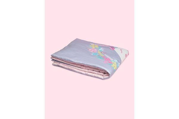Fancy Fluff Organic Toddler Comforter - Unicorn