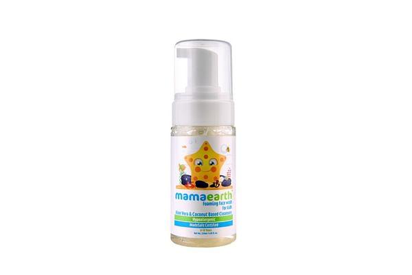 Mamaearth Aloevera & Coconut Baby Face Wash