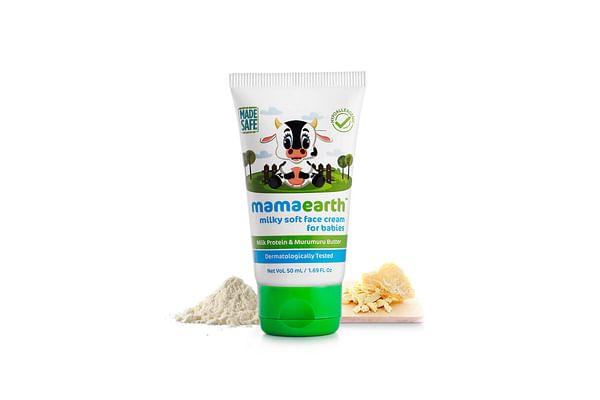 Mamaearth Milky Soft Baby Face Cream With Muru Muru Butter 60 Gm