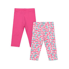 Girls Leggings- Multicolored
