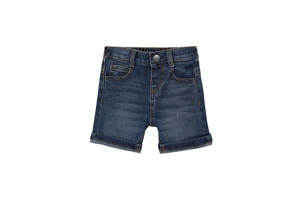 Boys Shorts-Washed Denim