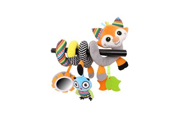 Biba Toys Woodland Friends Activity Spiral Toys