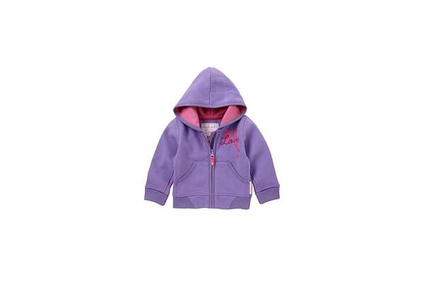 Girls Full Sleeves Sweatshirt Hooded - Purple