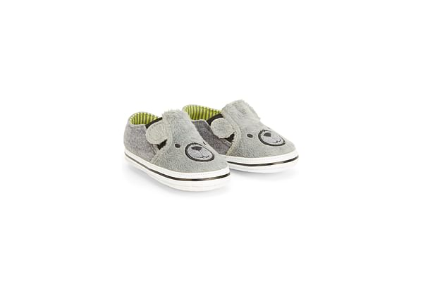 Boys Bear Shoes  - Grey