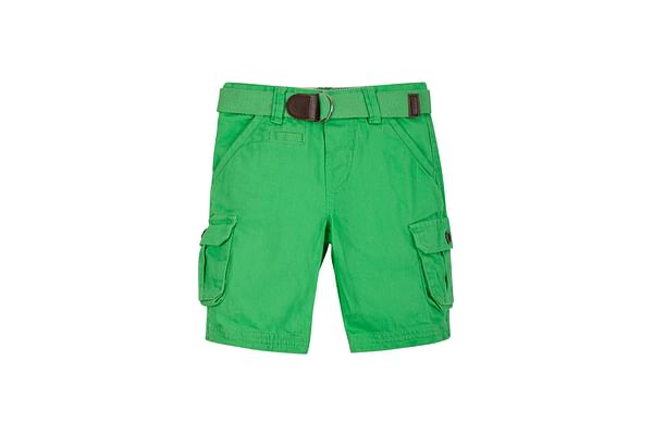 Boys Cargo Shorts - Green