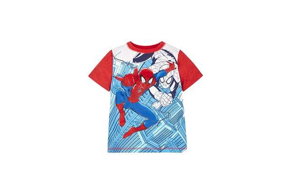 Boys Marvel Spiderman T-Shirt - Red