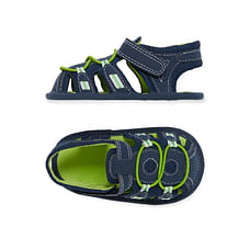 Boys Trekker Sandals - Green