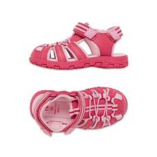 Girls Closed Toe Trekker Shoes - Pink