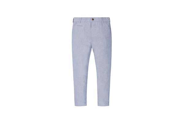 Boys Oxford Chino Trousers - Blue