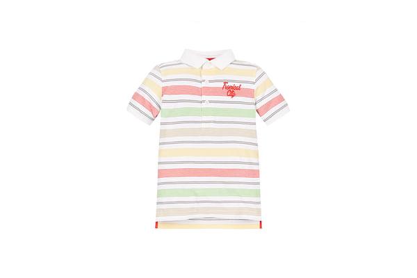 Boys Tropical City Polo  - Multicolor