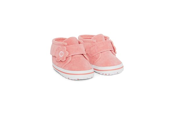 Pink Tassle Corsage Shoes