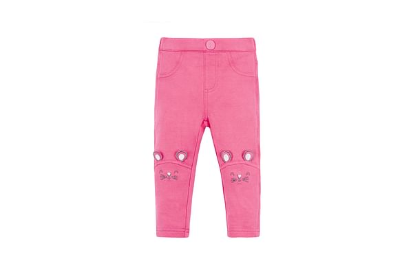 Pink Mouse Jeggings