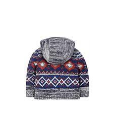 Knitted Zip Through Hoody