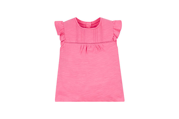 Pink Frilly T-Shirt