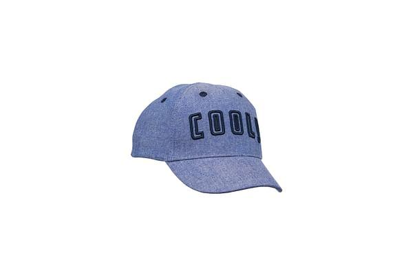 Boys Chambray Cool Cap - Blue