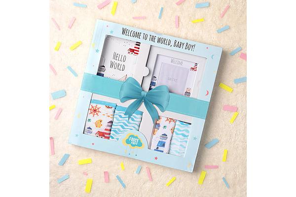 Fancy fluff Nautical Gift Box