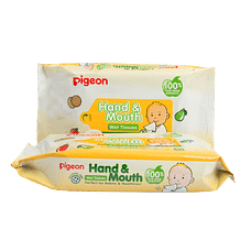 Pigeon Hand & Mouth Wipes