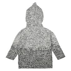Boys Full Sleeves 3D Details Sweatshirt - Grey