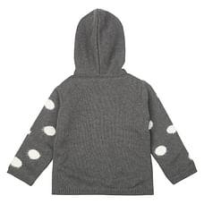 Boys Full Sleeves Printed Sweatshirt - Grey