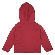 Girls Full Sleeves Embroidered Sweatshirt - Pink
