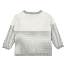 Boys Full Sleeves Sweater - Grey