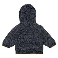 Boys Full Sleeves Printed Sweatshirt - Navy